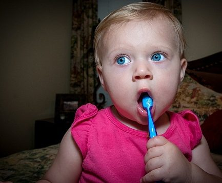 Kids to Brush Their Teeth